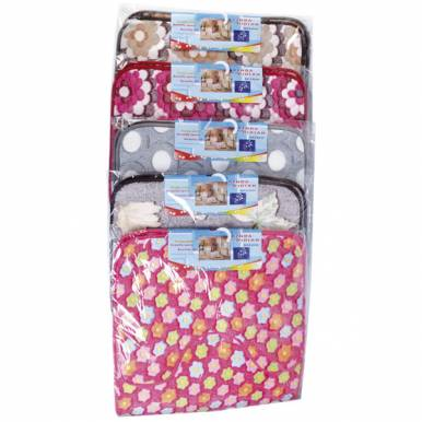 Набор ковриков для ванной комнаты 2шт 48х78см микс арт.MASP8849