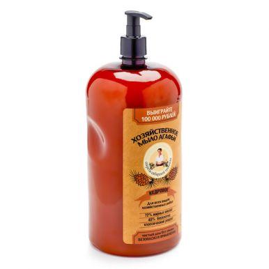 Рецепты бабушки Агафьи мыло хозяйственное Агафьи кедровое 2 л. артикул: 6812