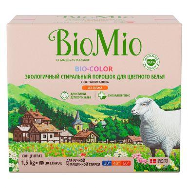 BioMio 1500гр Bio-Color стир.порошок д/цвет.белья