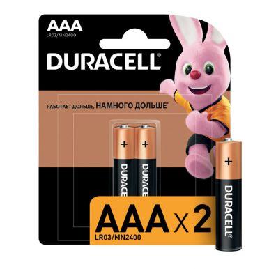 Duracell элемент питания AAA Mn2400 b2, 2 шт