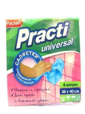 PACLAN Салфетки Practi хозяйственные универсальные  4шт 38х40см/10