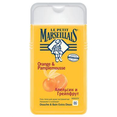 Le Petit Marseillais гель-пена для душа грейпфрукт и апельсин, 250 мл