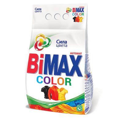 BIMAX стиральный порошок 3000г AUTOMAT Color Гранулы  Bi10/а12105