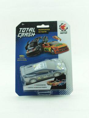 Машина TotalCrash, инерц.мех-зм, при столкновении разлетается на части, Полиция 870562