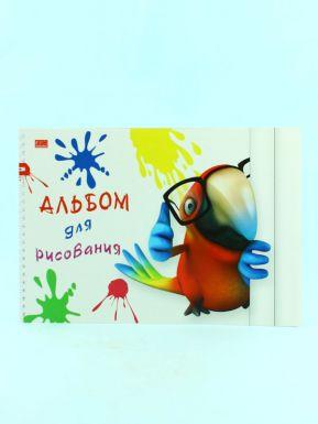 Альбом для рисования 40 листов А4, гребень