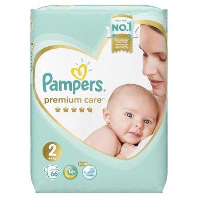 PAMPERS Подгузники Premium Care Mini (4-8 кг) Экономичная Упаковка 66