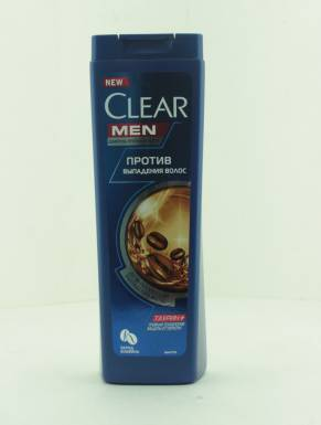 CLEAR NUTRIUM Шампунь для мужчин против перхоти Против выпадения волос для ослабленных волос, 400 мл
