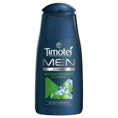 TIMOTEI шампунь мужской МЯТА И МАСЛО ЧАЙНОГО ДЕРЕВА, 400 мл