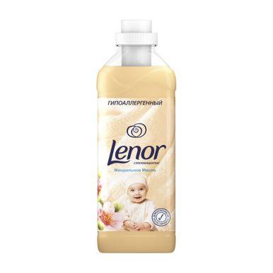 Lenor кондиционер для белья концентрат миндальное масло для чувствительной кожи, 1 л
