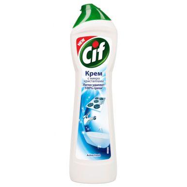 CIF Крем чист. 500мл Normal/Active Fresh(белый)