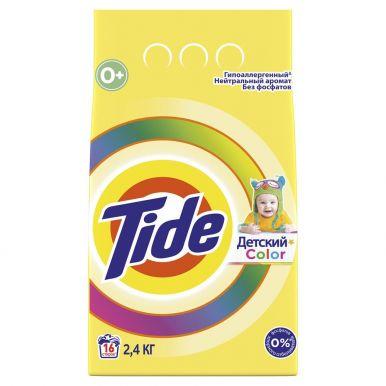 TIDE стир. порошок AUTOMAT 2400г для чувствительной и детской кожи Color
