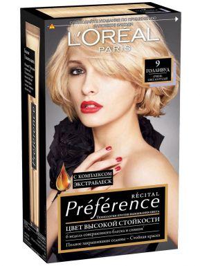Preference Recital краска для волос, тон 9, цвет: Голливуд очень светло-русый