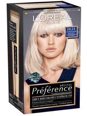 PREFERENCE Recital краска для волос №10,21 Стокгольм