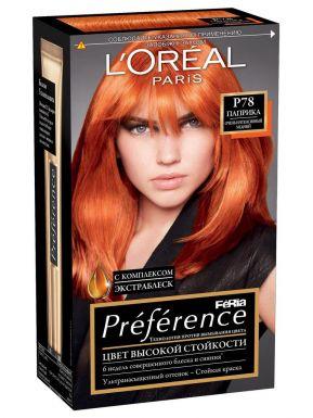 Preference Feria краска для волос, тон P78 Паприка