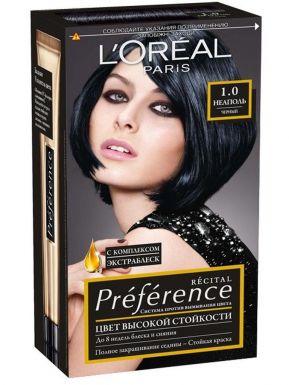 Preference Recital краска для волос, тон 1.0 Неаполь (Черный)