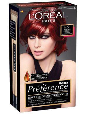 PREFERENCE Feria краска для волос №4.66 Рубин_