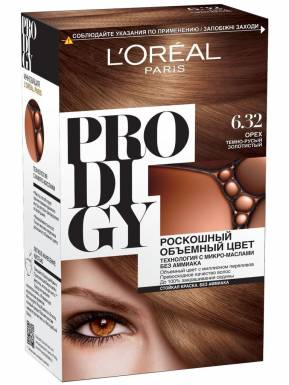 PRODIDGY Краска д/волос №6.32 Орех