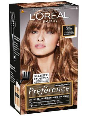 PREFERENCE WildOmbre краска для волос №3 Глэм Лайт Для мелирования_
