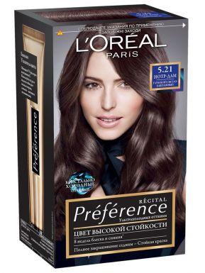 Preference Recital краска для волос, тон 5.21 Нотр-Дам
