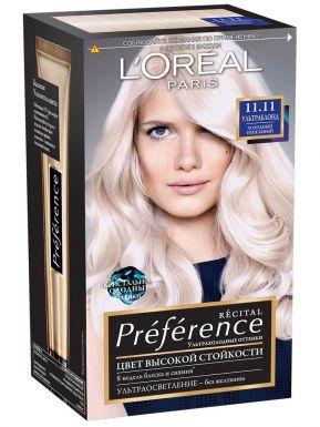 PREFERENCE Recital краска для волос №11.11 ультраблонд холодн. пепельн
