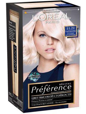 Preference Recital краска для волос, тон 11.21 Ультраблонд холодно перламутровый