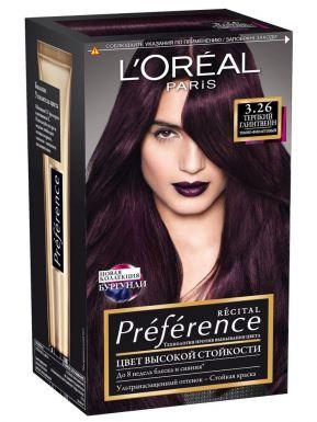 PREFERENCE Recital краска для волос №3.26 Терпкий Глинтвейн