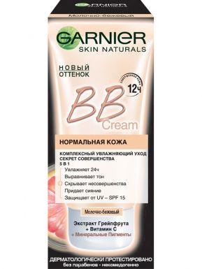 Garnier SN Чистая Кожа Актив BB Крем Увлажн. 50 мл Молочно-беж.
