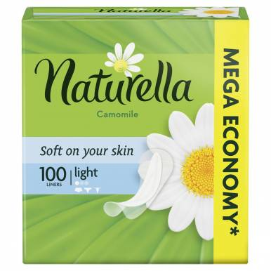 Naturella ежедневные Light, 100 шт