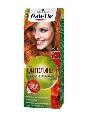 PALETTE Фитолиния крем-краска 390 Светлая медь