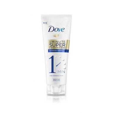DOVE  Hair 1-Минутный Супер кондиционер 180мл ИНТЕНСИВНОЕ Восстановление туба