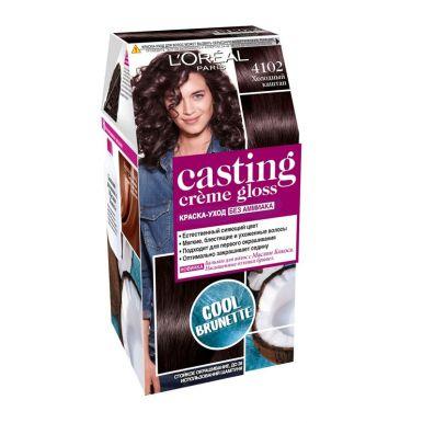 CASTING Crem Gloss краска 4102 холодный каштановый