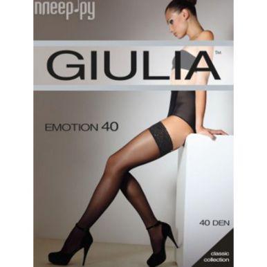 Чулки женские Giulia EMOTION 40 ден, неро 3-4/M-L