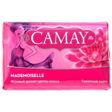 Camay Мыло 85г Mademoiselle Аромат цветка лотоса