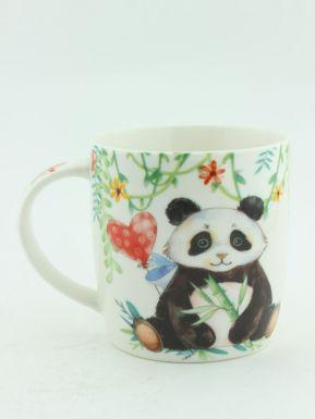 "480910220 кружка, объем 370 мл, разм.120x88x85mm, дизайн ""панда/альпака/фламинго"""