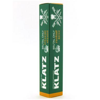 Klatz Зубная паста для мужчин  BRUTAL ONLY Убойный виски 75мл
