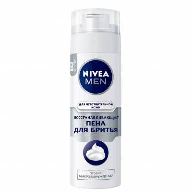NIVEA Пена для бритья Восстанавливающая 200 мл  6/24   /88562