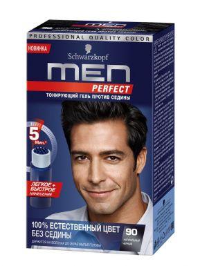MEN PERFECT Краска д/волос 90 Черный