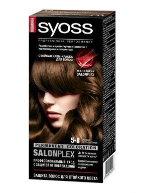SYOSS Color краска д/волос 5-8 Ореховый светло-каштановый 50мл