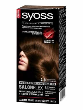 SYOSS Color краска д/волос 4-8 Каштаново-шоколадный 50мл