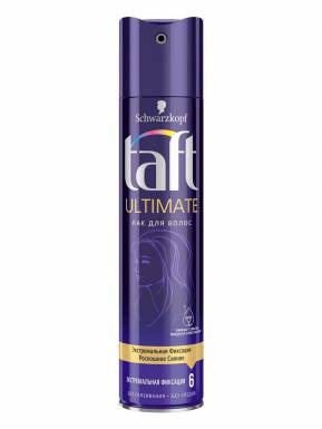 TAFT Ultimate Лак 225мл экстремальная фиксация