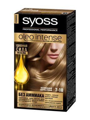 SYOSS Oleo краска д/волос 7-10 Натуральный Светло-русый 50мл