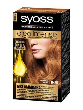 SYOSS Oleo краска д/волос 8-70 Янтарный блонд 50мл
