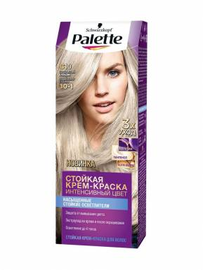 PALETTE краска C10 серебристый блондин