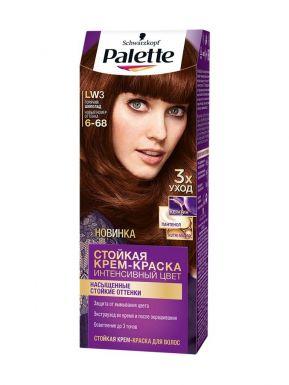 Palette краска для волос, тон LW3, цвет: Горячий шоколад