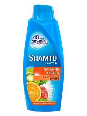 SHAMTU Шампунь 650 мл Питание и сила с экстрактами фруктов__