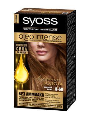 SYOSS Oleo краска д/волос 8-60 Медовый блонд 115мл