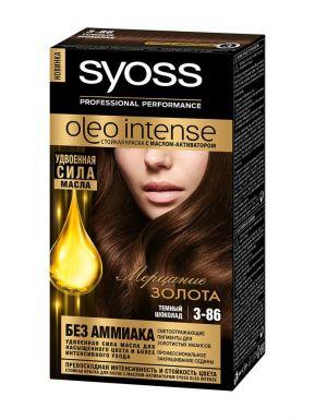 SYOSS Oleo краска д/волос 3-86 Темный шоколад