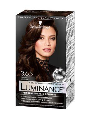 Luminance Краска д/волос 3.65 Горький шоколад