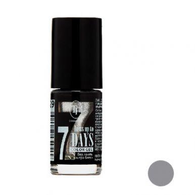 "TF Лак для ногтей COLOR GEL, тон 259  ""Silver/Серебро"", 8мл"