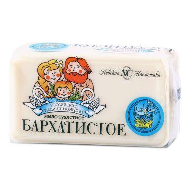 Н.К. мыло БАРХАТИСТОЕ 140гр/20837/а14818